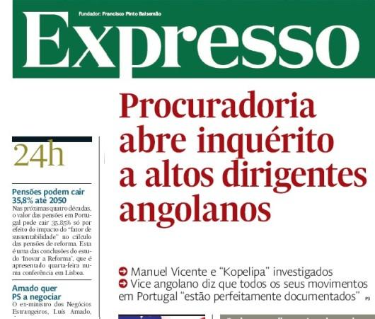 Procuradoria abre inquérito a altos dirigentes angolanos